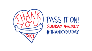 Thank You Day 4th July 2021 - Pass it on